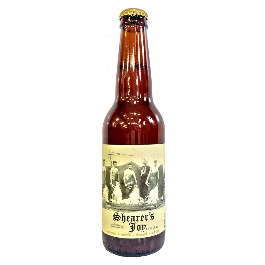 Robe Town Brewery Shearer s Joy Historic Farmhouse Ale Sante